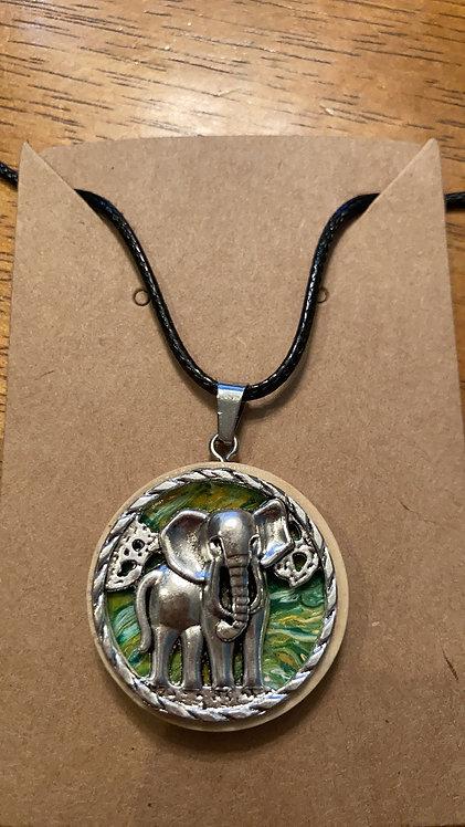 Elephant Lovers Pendant