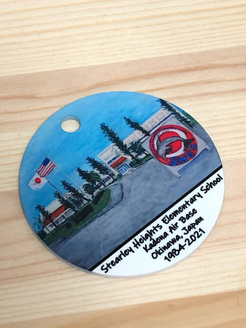 Stearley Heights Elementary School Momento Ornament