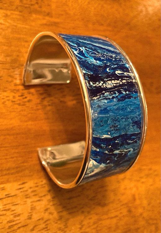 """Ocean Blues 1"""" cuff"""