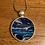 Thumbnail: Ocean Blues in Circular Pendants