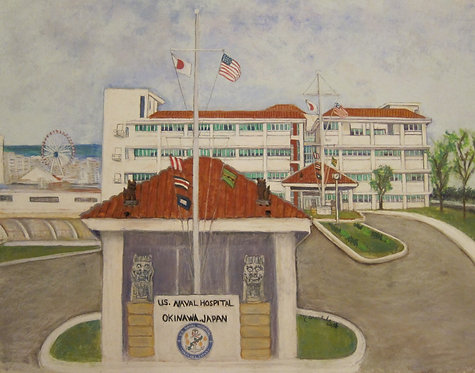 The Naval Hospital on Camp Foster