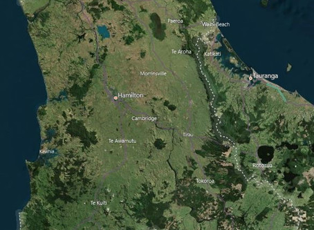 LiDAR Survey & Imagery in Waikato