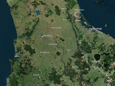 LiDAR Survey & Imagery in Waikato