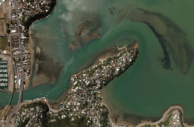 Porirua Harbour & SH1, Wellington (2020)