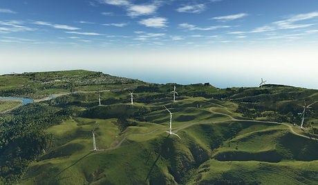 Saddle Road, Te Apiti Wind Farm (Colourised Point Cloud 2018)