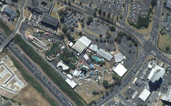 Rainbow's End Theme Park, Auckland (2020)