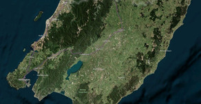 Aerial Surveys to Capture LiDAR over Wellington Region