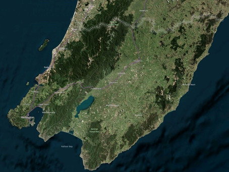 Aerial Surveys to Capture LiDAR over Wellington Region