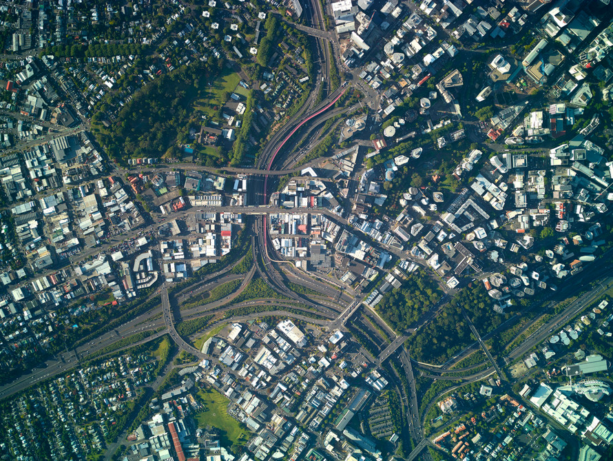 Spagetti Junction, Auckland (2017)