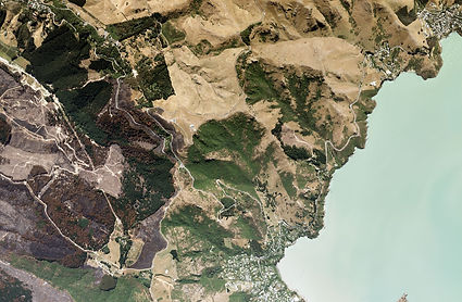 Port Hills Fires, Governors Bay (2017)