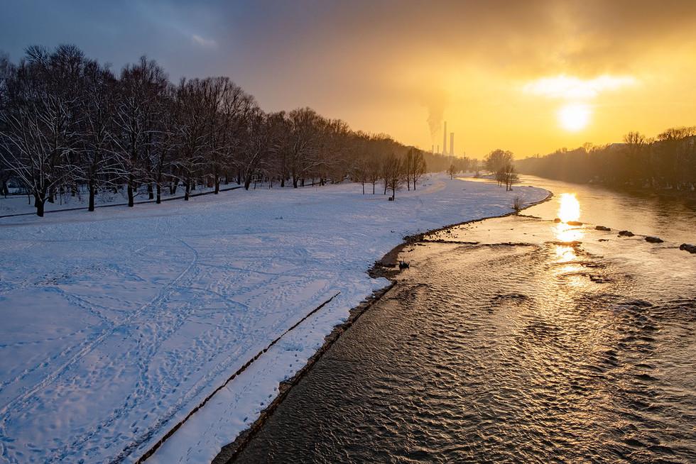 Landschaftsfotografie | Isar, München