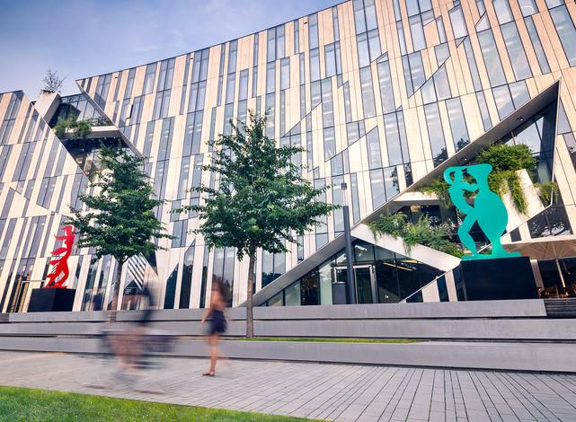 Architekturfotografie | Düsseldorf, KÖ-Bogen Skulpturen von Stefan Szczesny für Galerie Kellermann