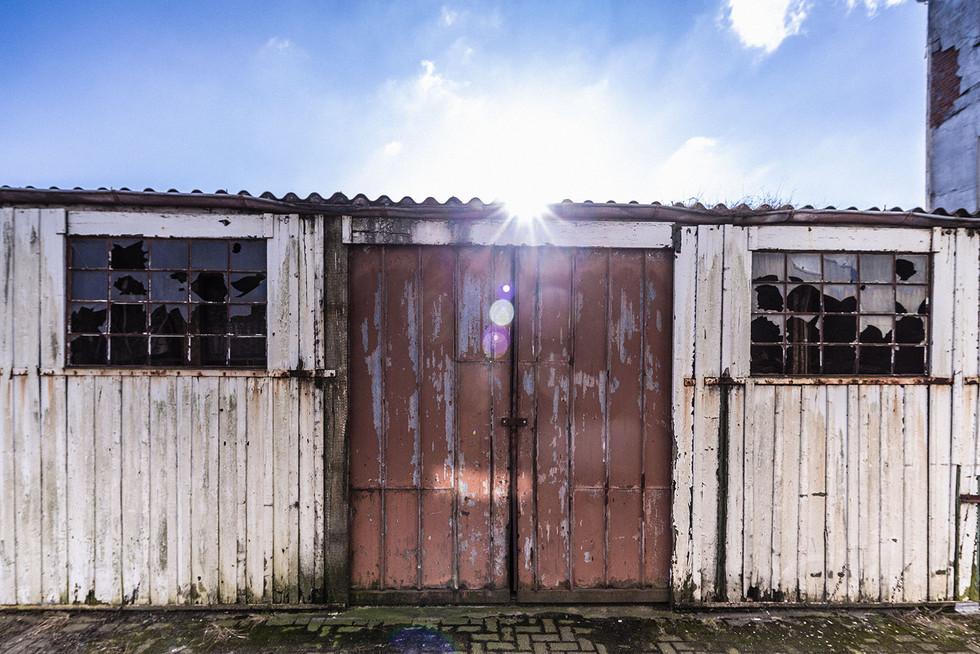 Landschaftsfotografie | Baracke, Ostfriesland
