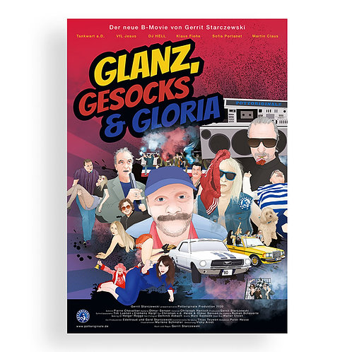 POSTER Glanz, Gesocks & Gloria | POTTORIGINALE