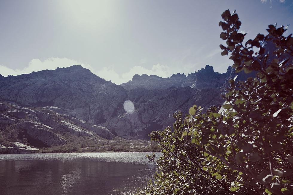 Landschaftsfotografie | Bergsee, Korsika