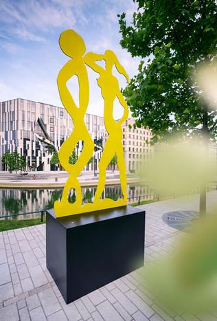 Architekturfotografie | Düsseldorf, KÖ-Bogen Dokumentation der Skulpturen von Stefan Szczesny für Galerie Kellermann
