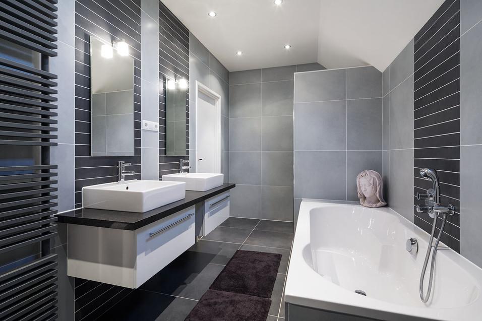 Architekturfotografie | Badezimmer Immobilie Stuttgart