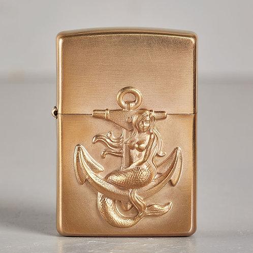 ZIPPO Meerjungfrau | hart auf hart | bronze