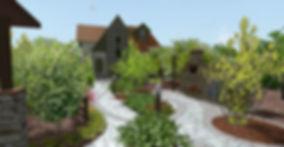 красноярск ландшафтный дизайн озеленение ландшафтное проектирование обучение ландшафтное бюро натали
