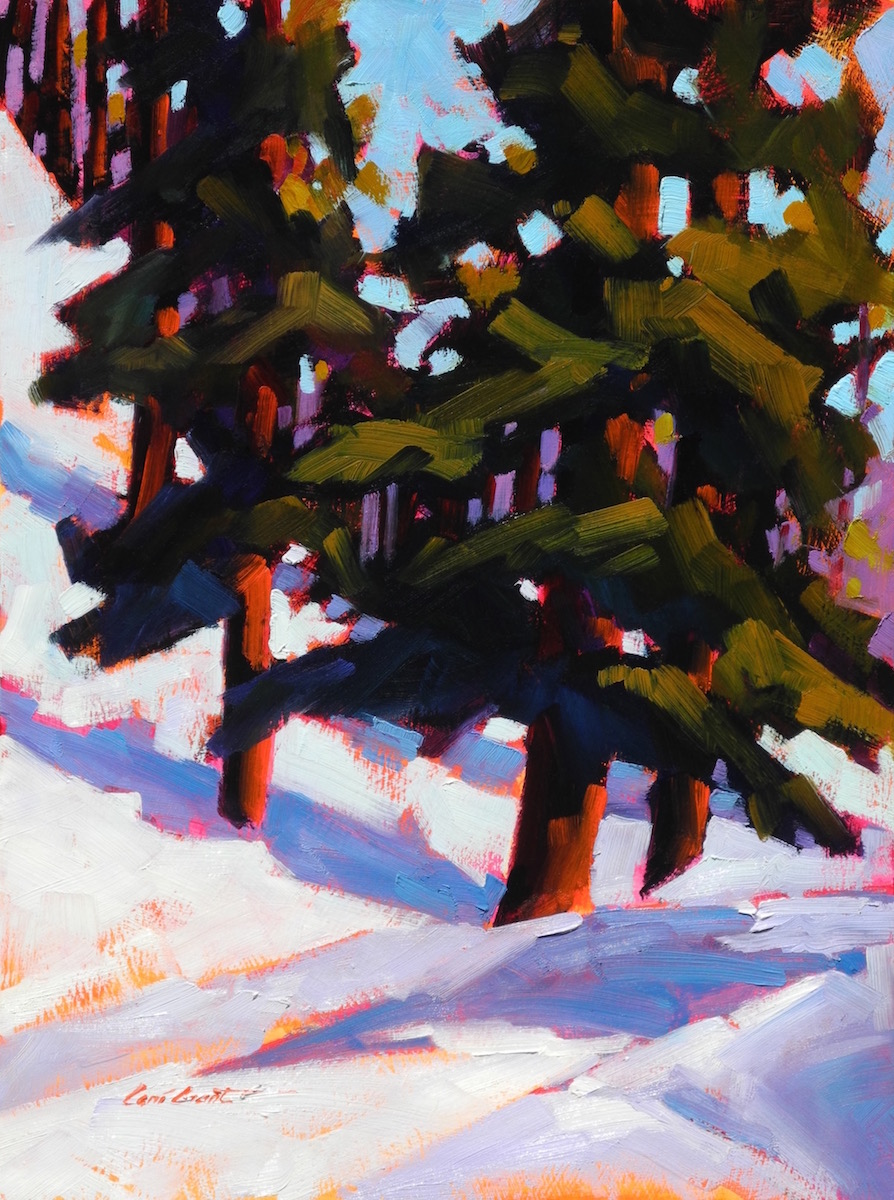 Winter Road   12 x 9