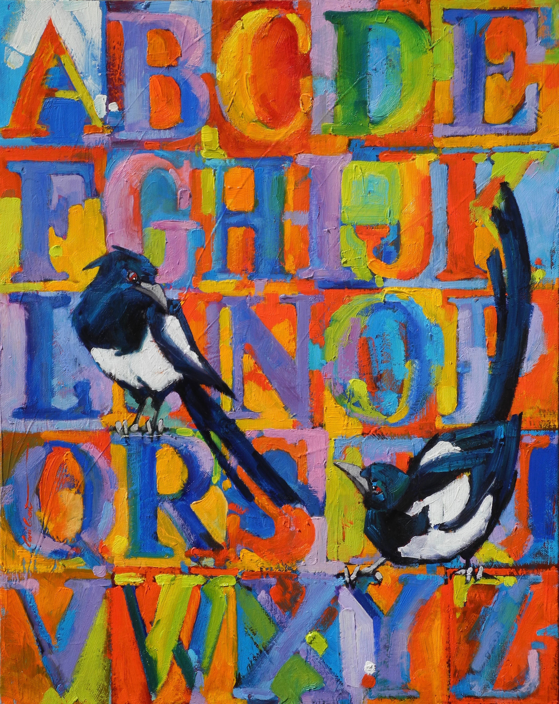 """M"" is for Magpie"