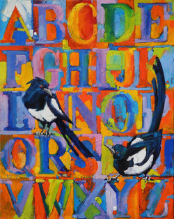 """""""M"""" is for Magpie"""