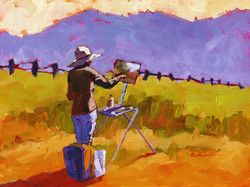 In the Field   12 x 16
