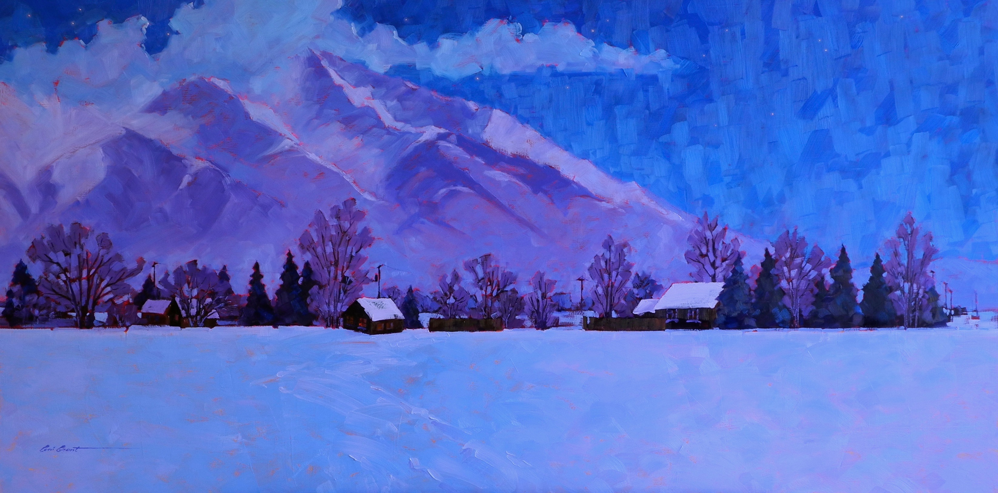 In the Deep Midwinter  24 x 48