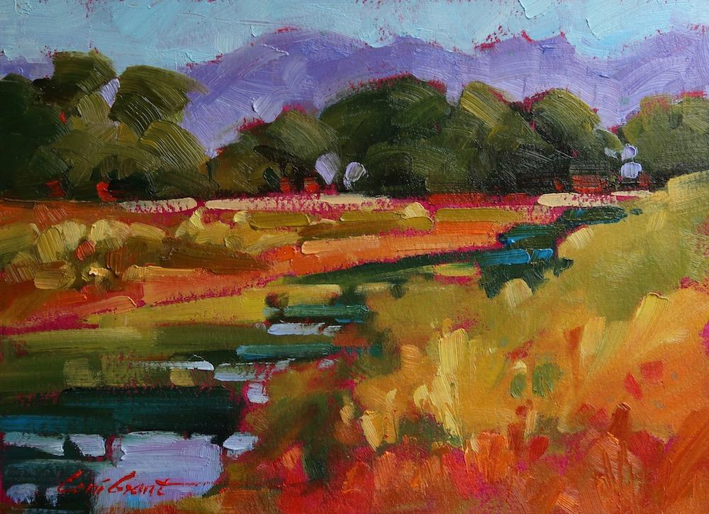 Rio Grande View  6 x 8