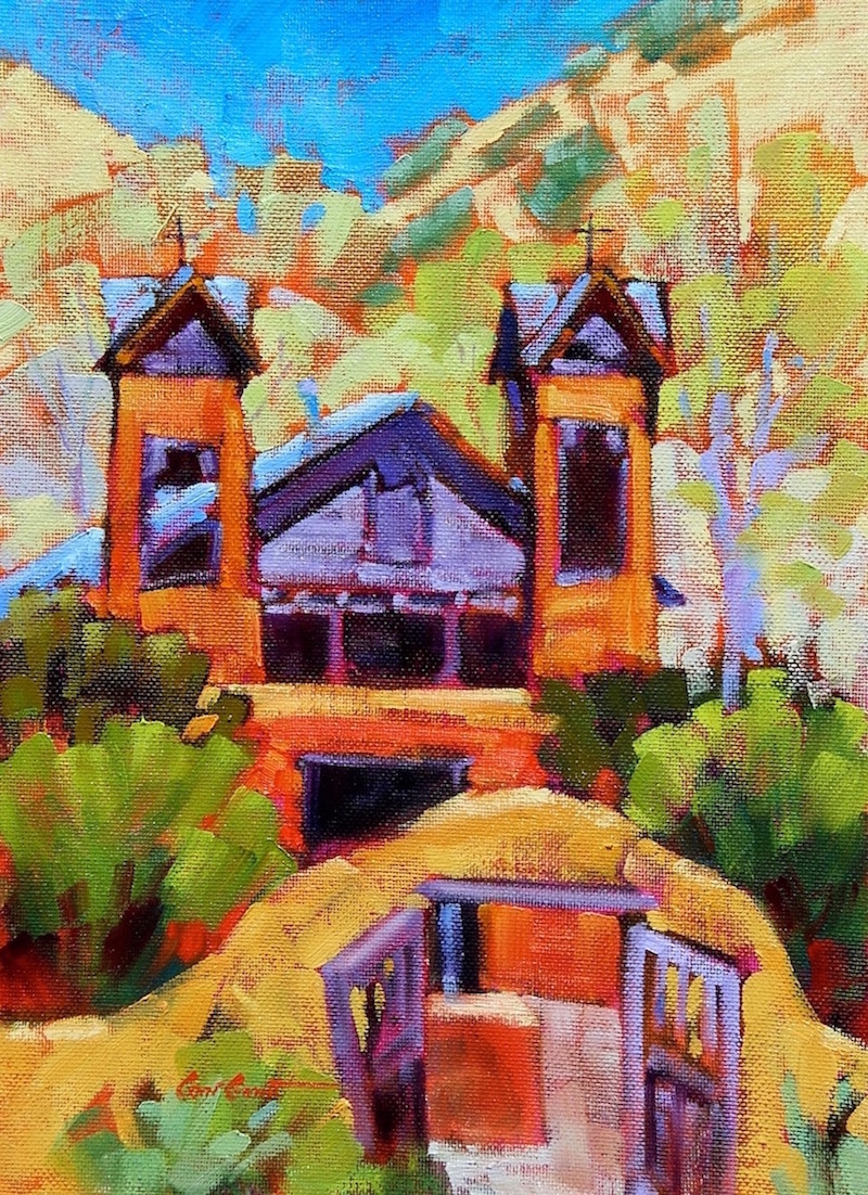 Chimayo Sanctuario   12 x 9