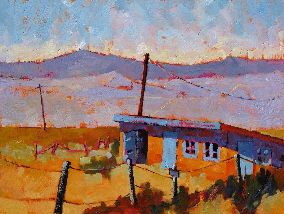 Monday in Taos   12 x 16