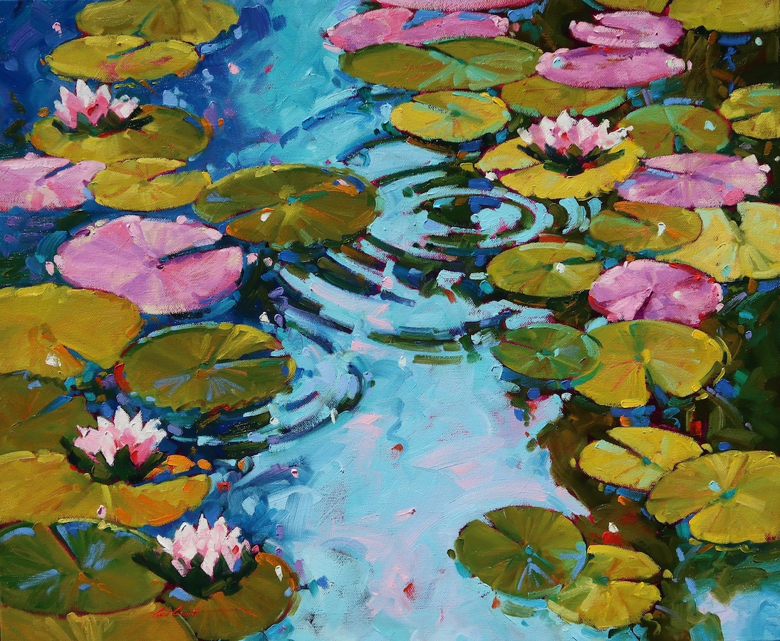 Water Garden 20 x 24