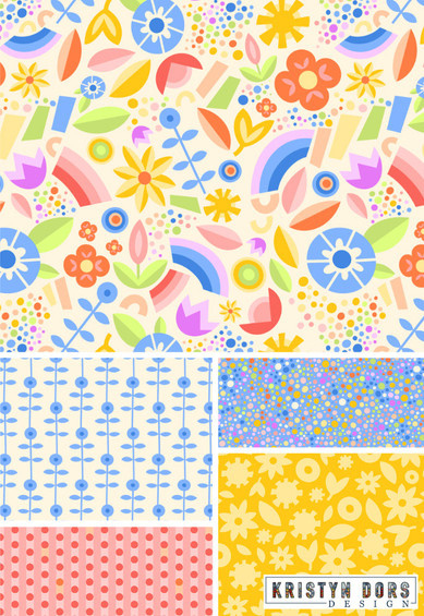 Kristyn Dors Springtime Rainbows