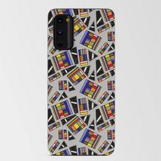 Geometric Rainbow Box on Light Gray Cell
