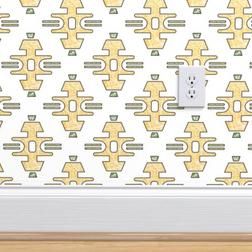 Diamond Bars in Yellow Large Wallpaper