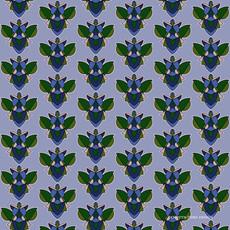 Bizarro Beetle in Green and Blue