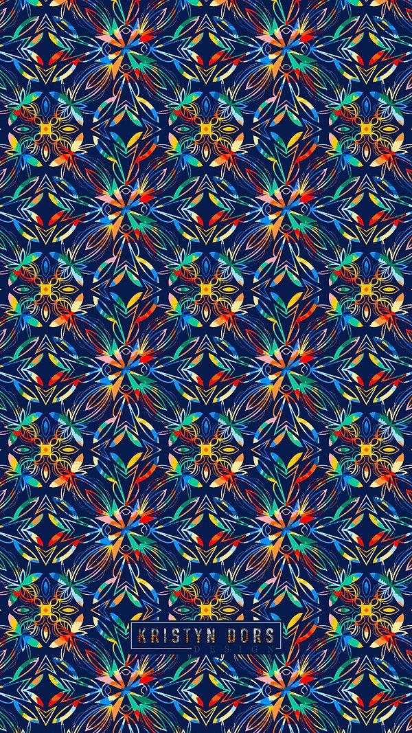 Rainbow Tie Dye Mobile Wallpaper 16.9.jp