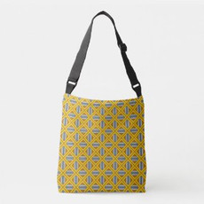 Plaid in Yellow and Gray Bag