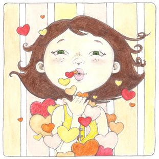 JACKIE BLOWING KISSES