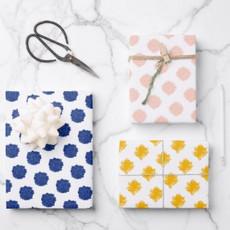 Polka Dot Scribbles Gift Wrap Sheets