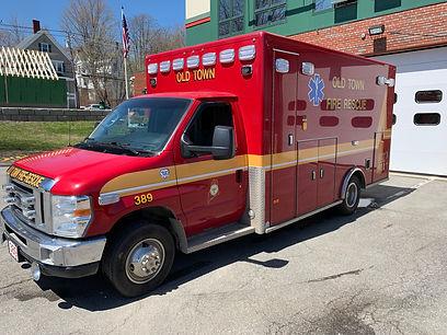 Retired Ambulance 389