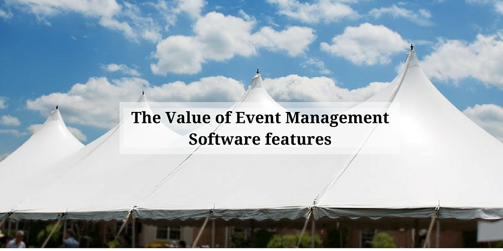 What is the value of events management software for nonprofits