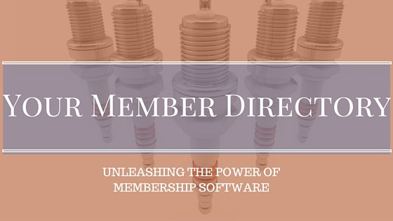Using Online Member Directory Database for Member Search