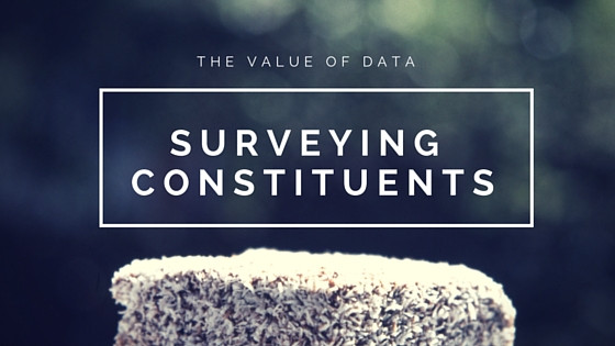 501c3's need data to be effective via Survey