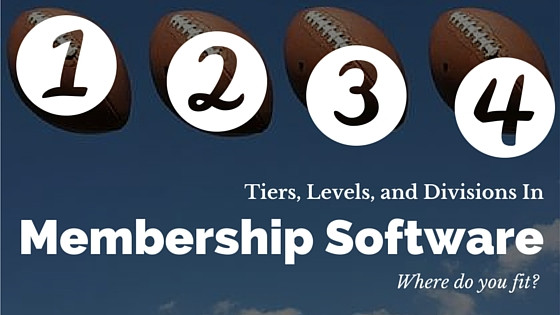 Membership Software Review of Tiers