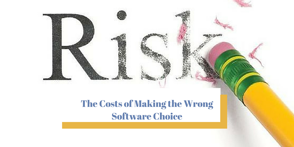 The Costs of Making the Wrong Software Decisions