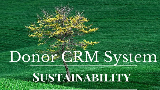 Donor CRM Systems for sustainability at nonprofits