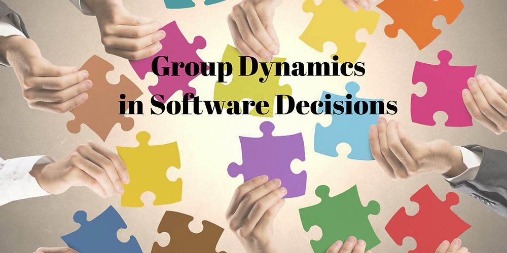 Software decisions are challenging. And, Group Dynamics play a big role in finding the right software for your nonprofit.