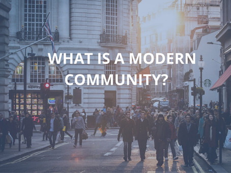 Does Your Nonprofit Need To Provide A Modern Community?