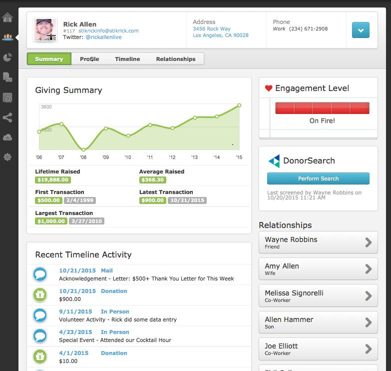 Bloomerang Donor Fundraising Software Review